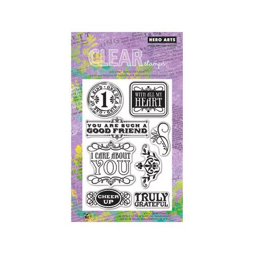 חותמות סיליקון - Cheer Up - Clear Stamp