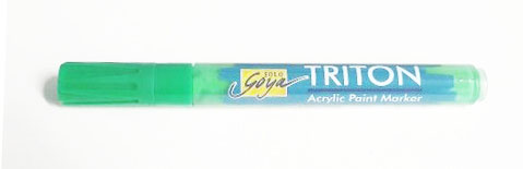 Triton Acrylic Paint Marker 1-4 mm - Permanent Green