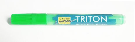 Triton Acrylic Paint Marker 1-4 mm - Yellowish Green