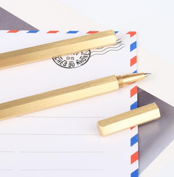 עט גולדי משושה