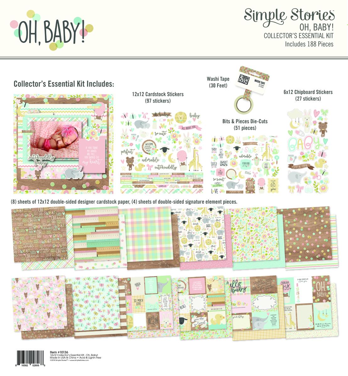 מארז - Oh, Baby! Collector's Essential Kit