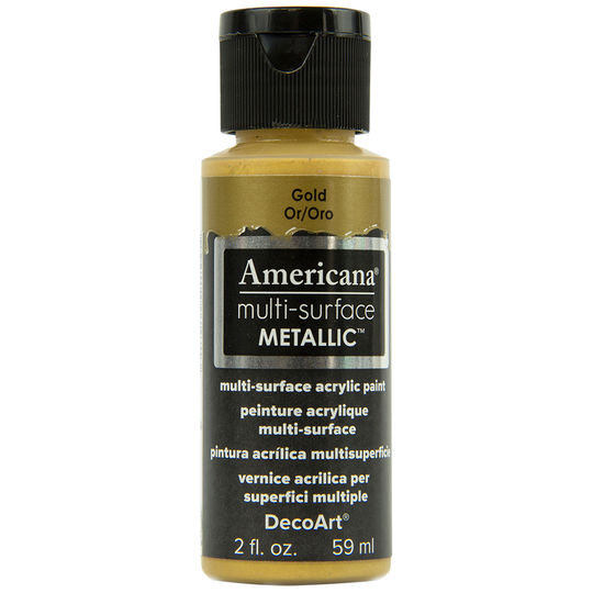 Americana Multi-Surface Metallic Paint - Gold