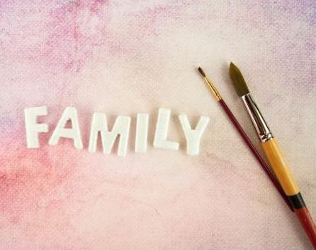 Thread Letters - FAMILY