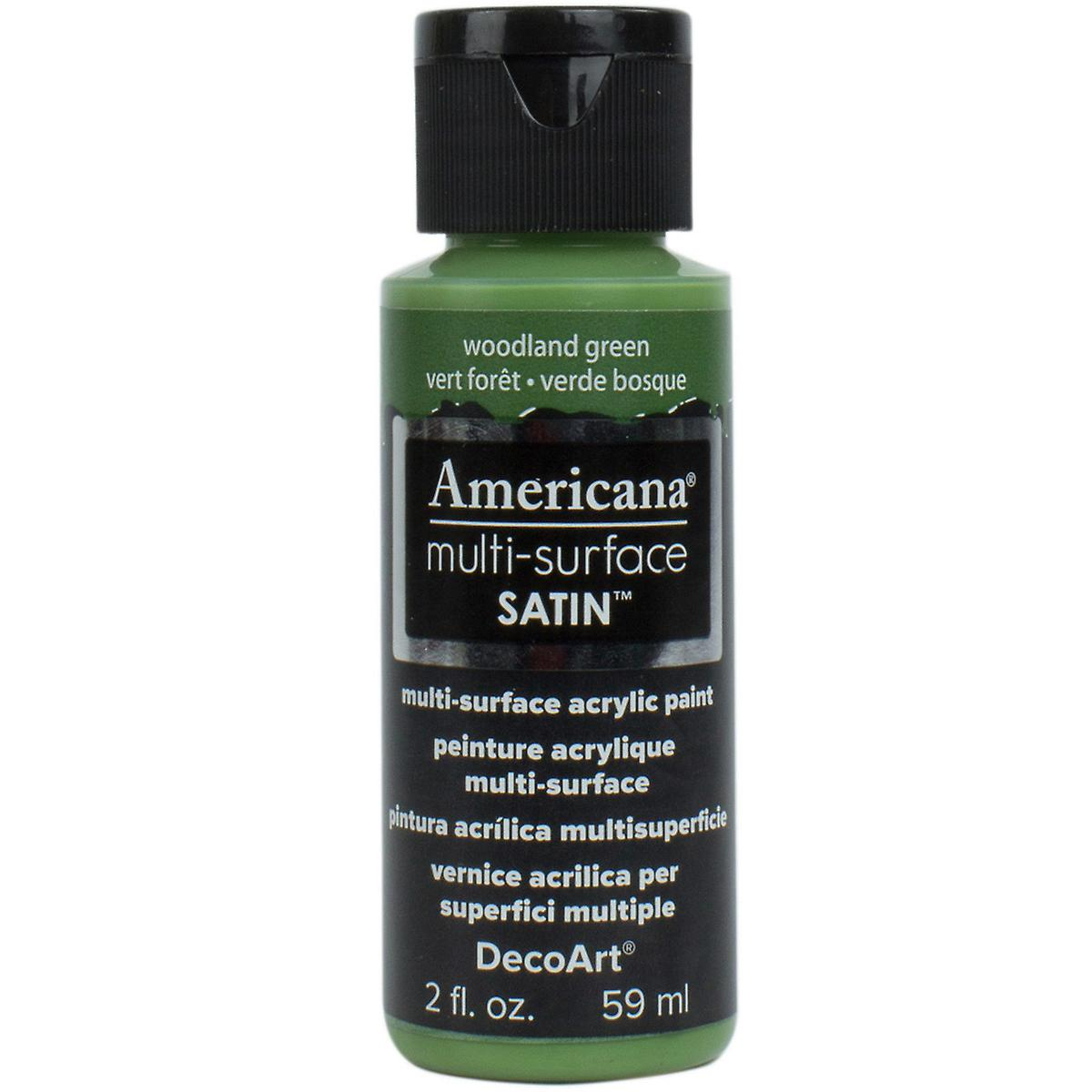 Americana Multi-Surface Acrylic Paint - Woodland Green