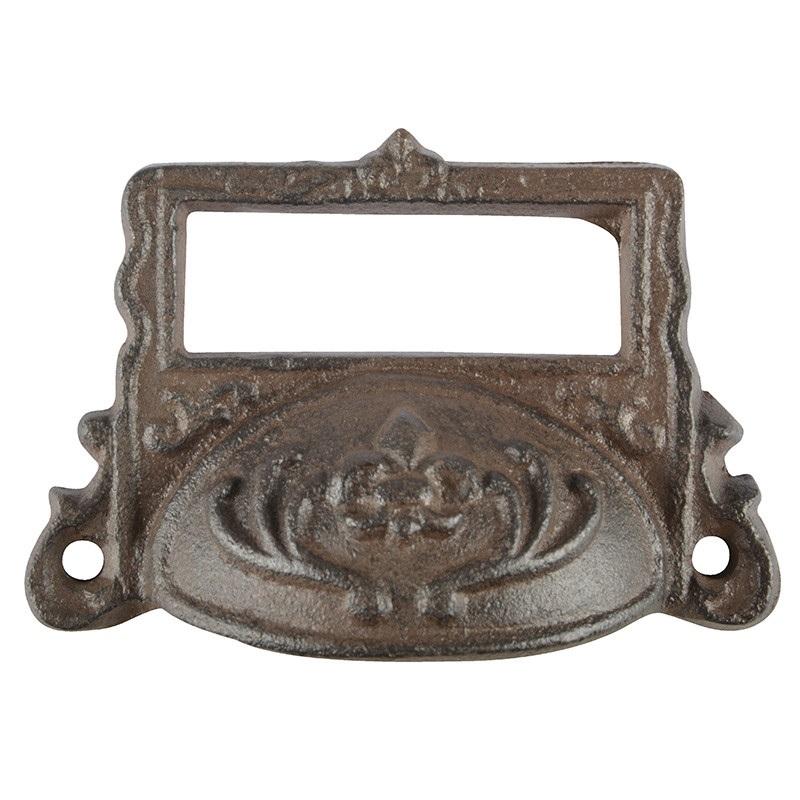 ידית ברזל למגירה עם חלון - דגם 2