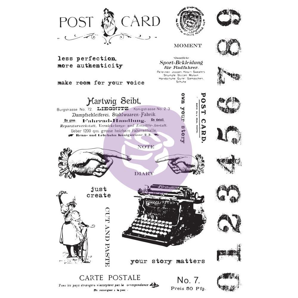 סט חותמות קלינג - Carte Pstale