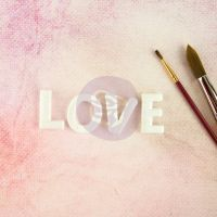 Thread Letters - LOVE