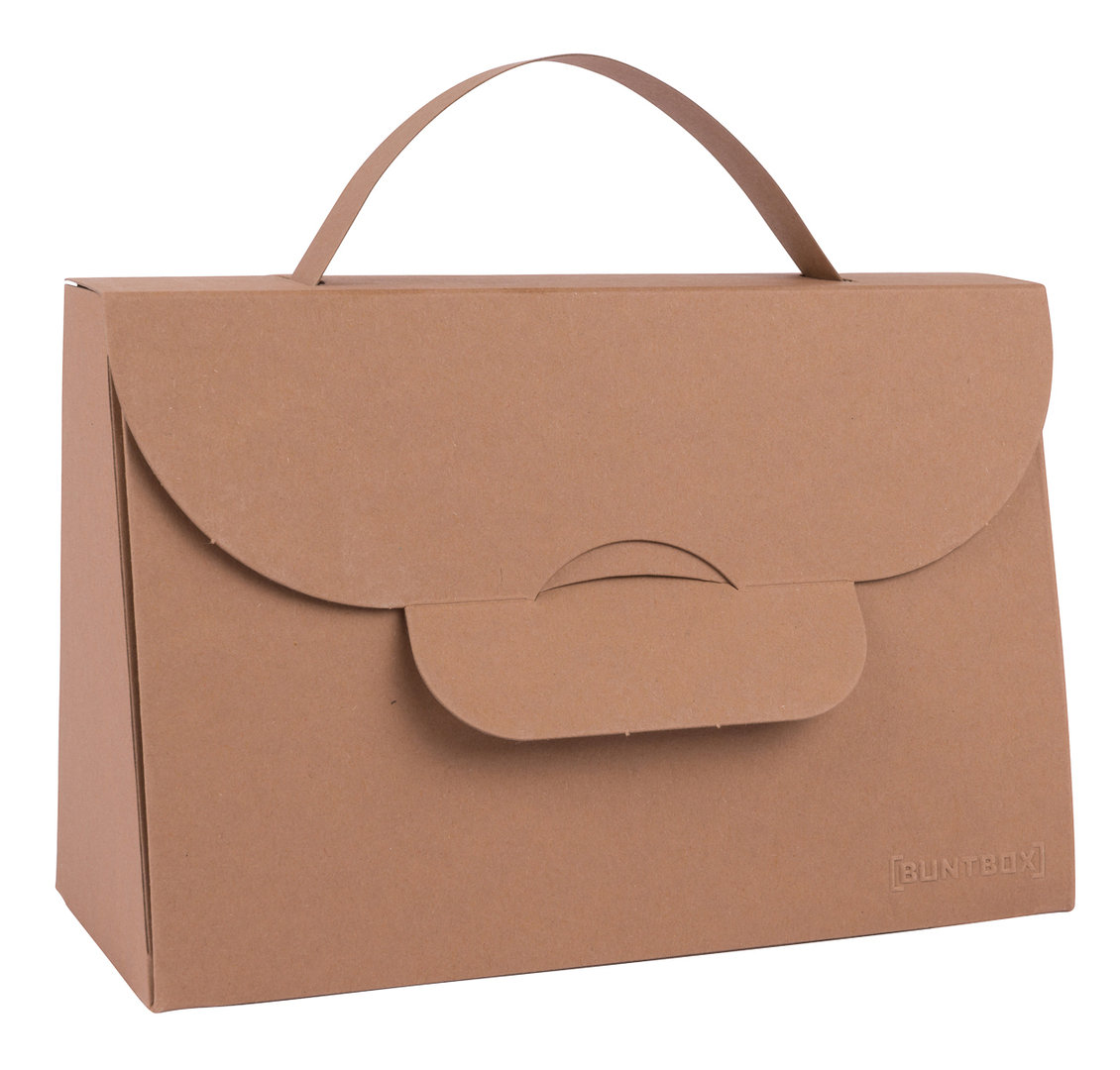 BUNTBOX Handbag M - Tobacco