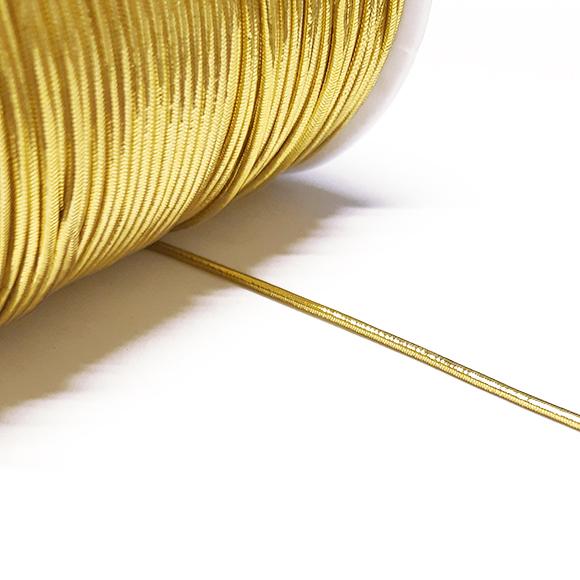 162 - חוט גומי - זהב