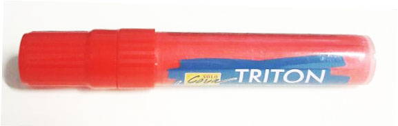 Triton Acrylic Paint Marker 15 mm - Cherry Red