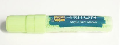 Triton Acrylic Paint Marker 15 mm - Pale Green