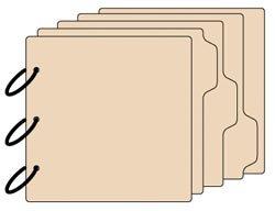 """אלבום צ'יפבורד לעיצוב - Tab Chipboard Album 8""""X8"""""""