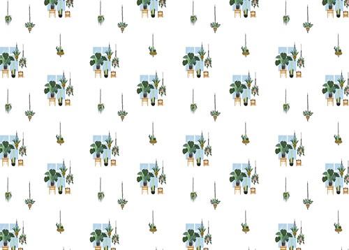 נייר עטיפה - דגם 26 - ג'ונגל אורבני