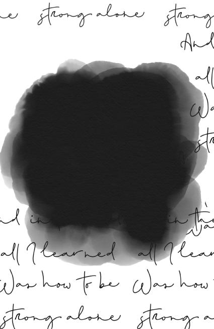 """פנקס ממו 23X15 ס""""מ - קליגרפיה שחור לבן"""