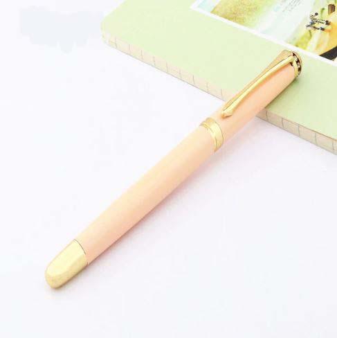 עט נובע ראש ציפורן בצבע אפרסק