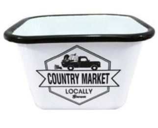 קערת אמייל - Country Market