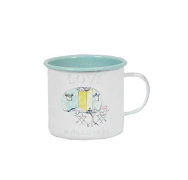 כוס אמייל - חופשה רומנטית