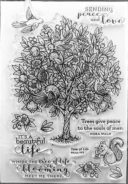 סט חותמות סיליקון - Tree of Life