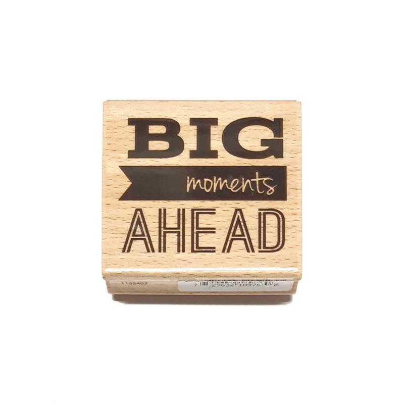 חותמת עץ - BIG Moments