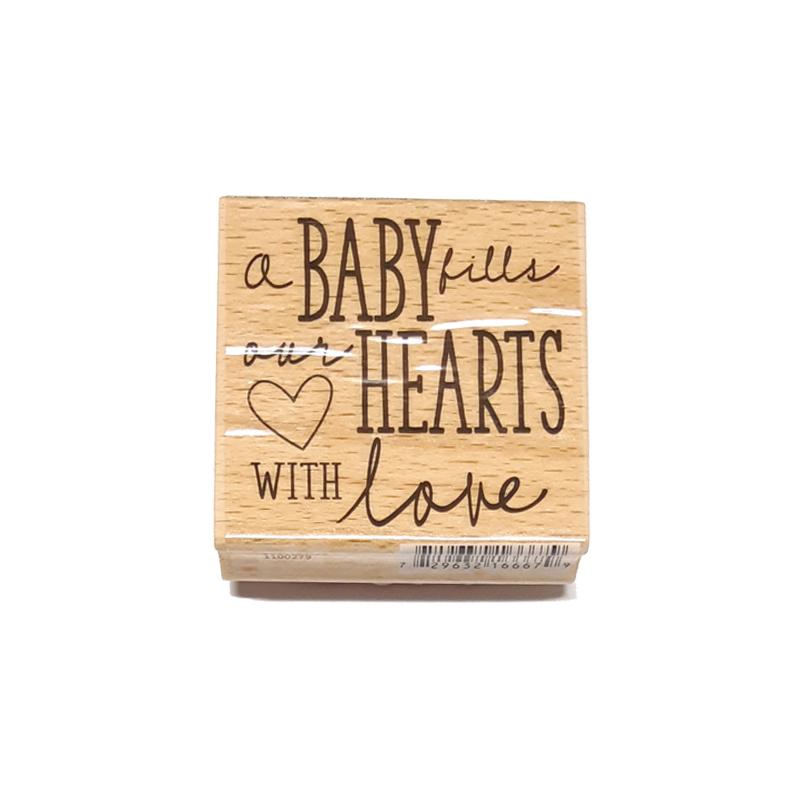 חותמת עץ - Baby Love