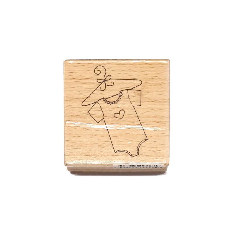 חותמת עץ - little baby