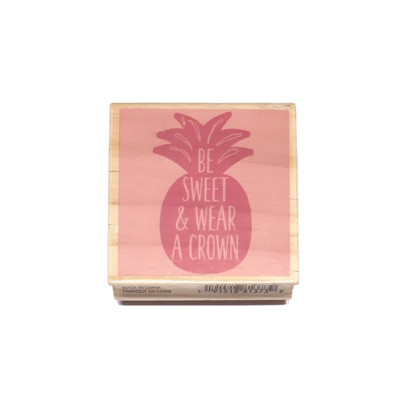 חותמת עץ - Be sweet
