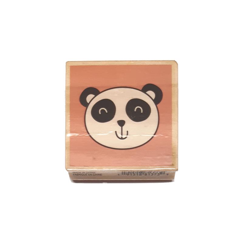חותמת עץ - Panda
