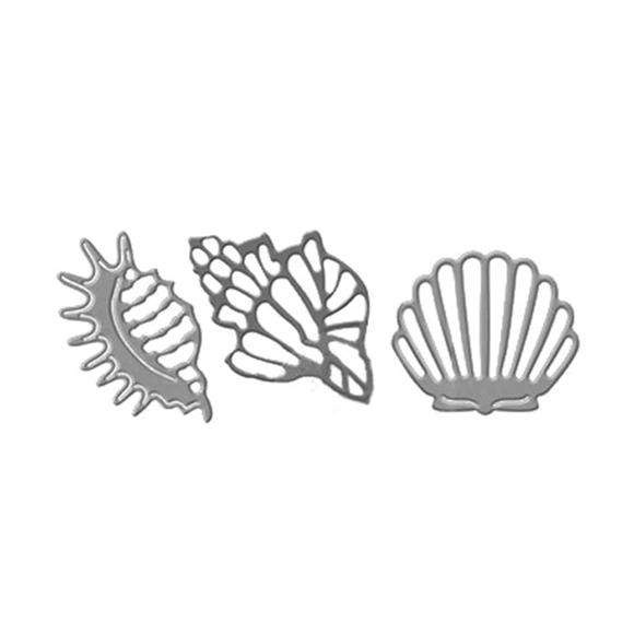 סט תבניות חיתוך - Sea shells