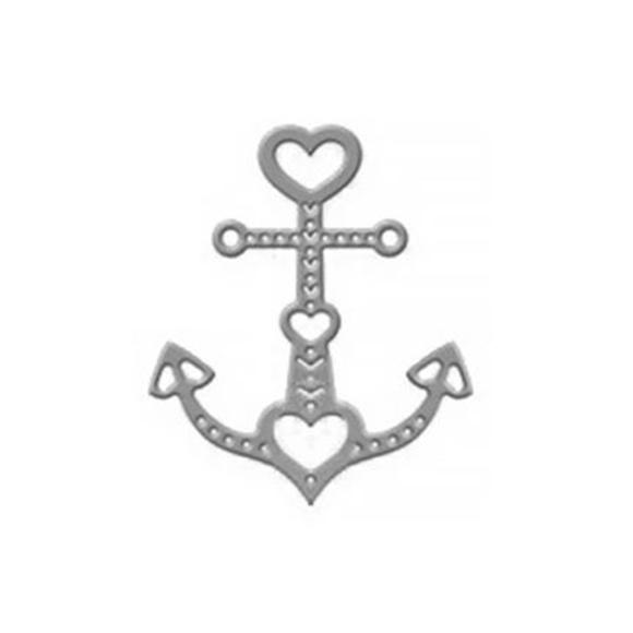 תבנית חיתוך - anchor