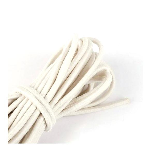 חוט גומי לבן