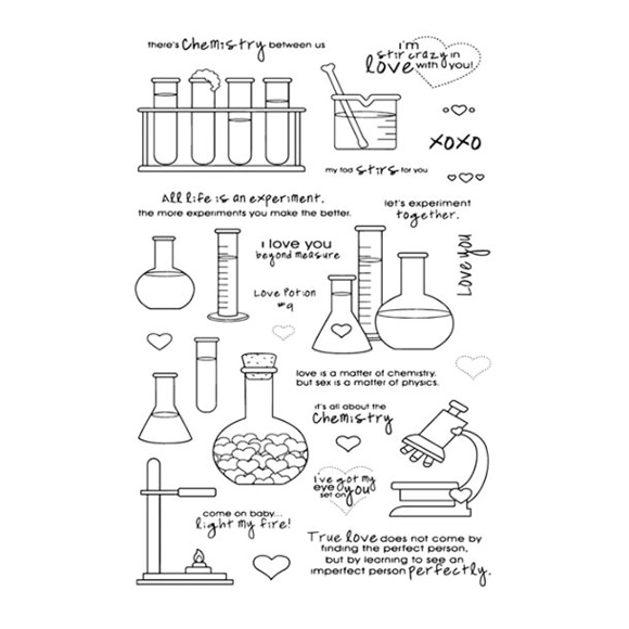 סט חותמות סיליקון - The Love Lab