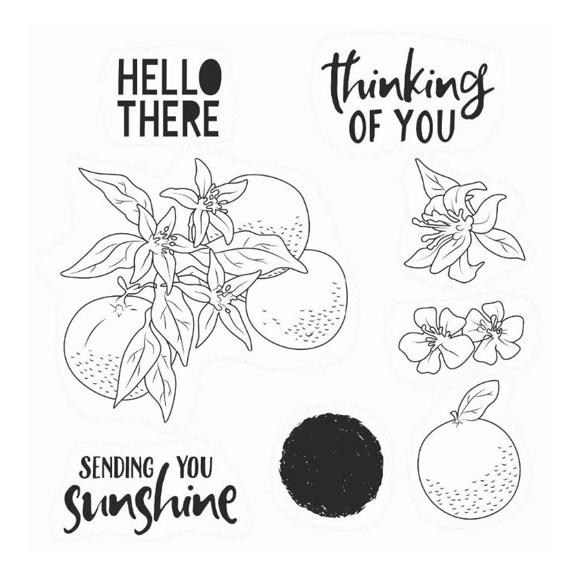 סט חותמות סיליקון - Hello There