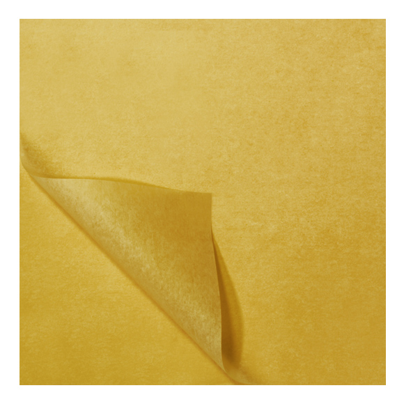 מארז ניירות משי - צהוב חרדל