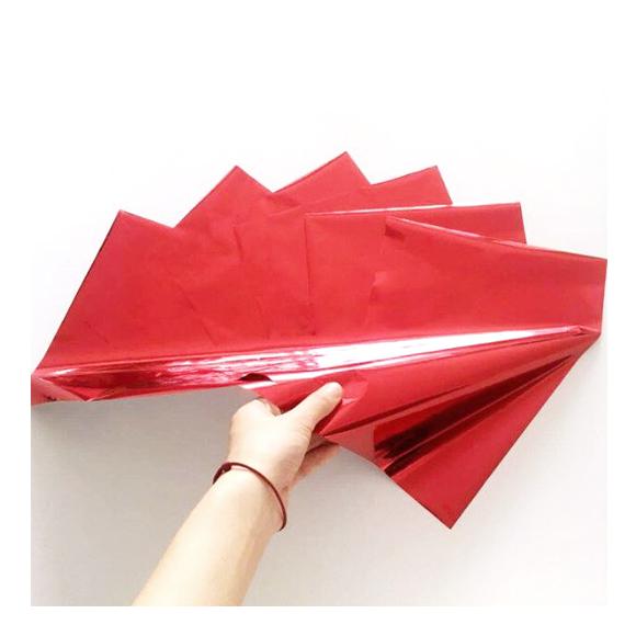 גיליונות פויל - Foil stamping paper - Passion Red