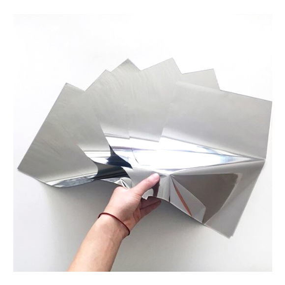 גיליונות פויל - Foil stamping paper - Silver