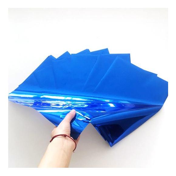 גיליונות פויל - Foil stamping paper - Royal blue