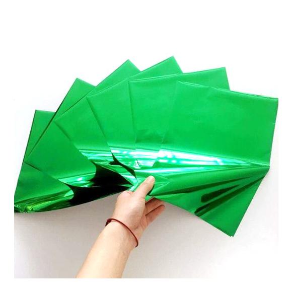 גיליונות פויל - Foil stamping paper - Pure green
