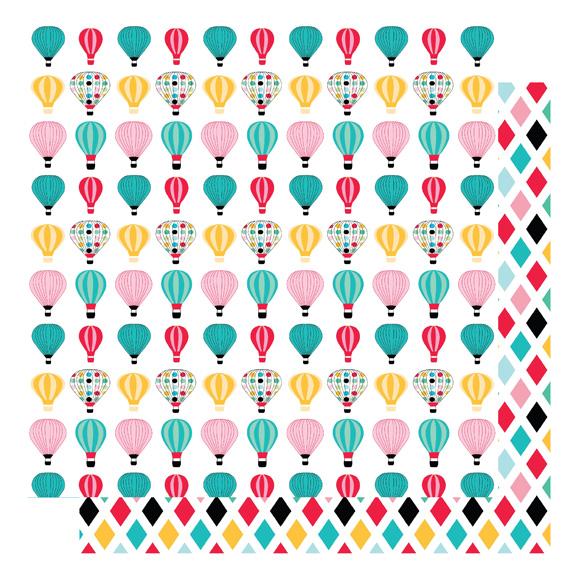דף קארדסטוק - הכי גבוה שאפשר - כדורים של צבע