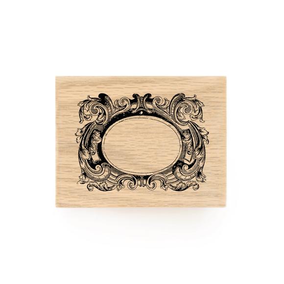 חותמת עץ - בארוק