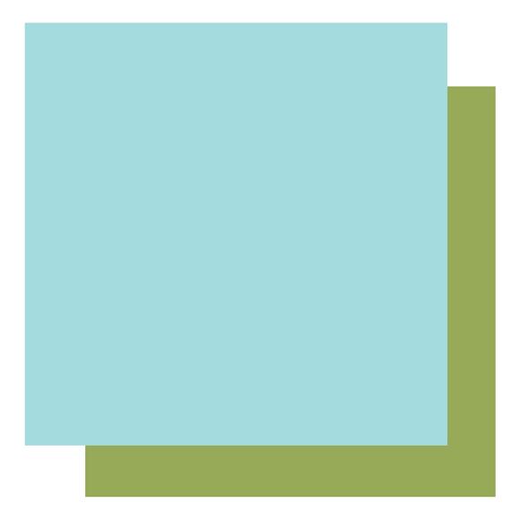 דף קארדסטוק - חופי יוון - טורקיז/ירוק כהה