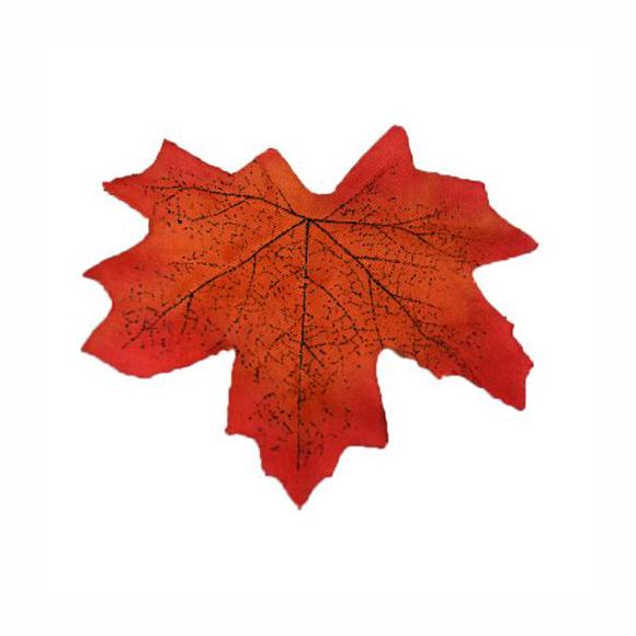 עלה מייפל מלאכותי - גווני אדום