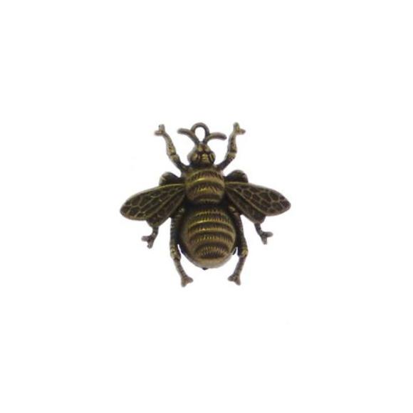 צ'ארם חיפושית ממתכת - ברונזה