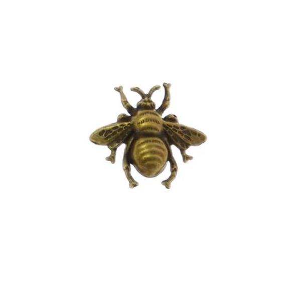 צ'ארם חיפושית ממתכת - זהב