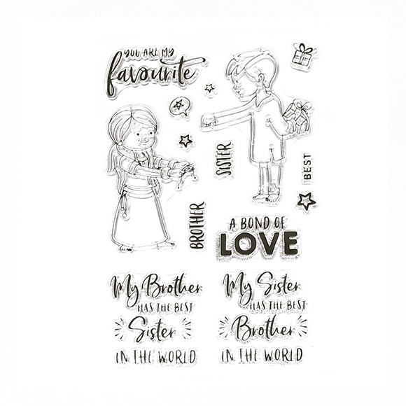 סט חותמות סיליקון - A bond of love