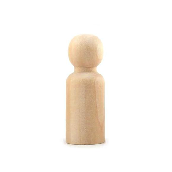 בובת עץ בינונית - ילד
