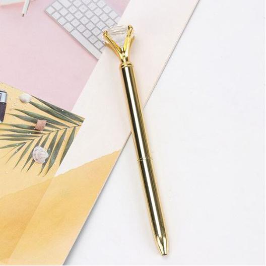 עט יהלום - זהב