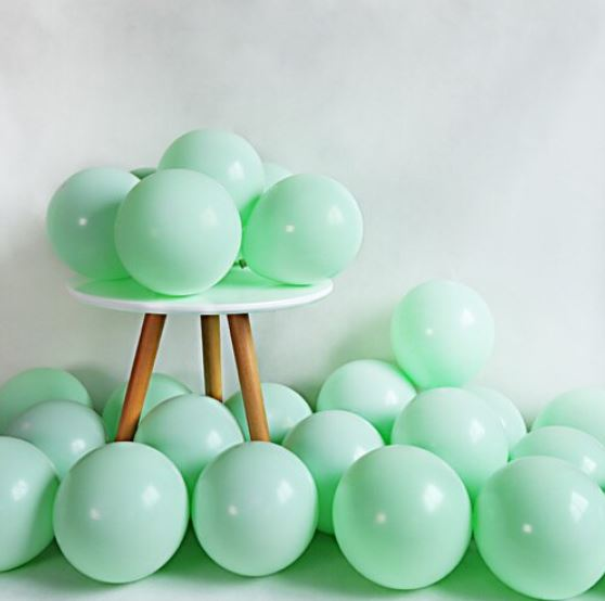 """בלונים צבעוניים """"10 - ירוק"""