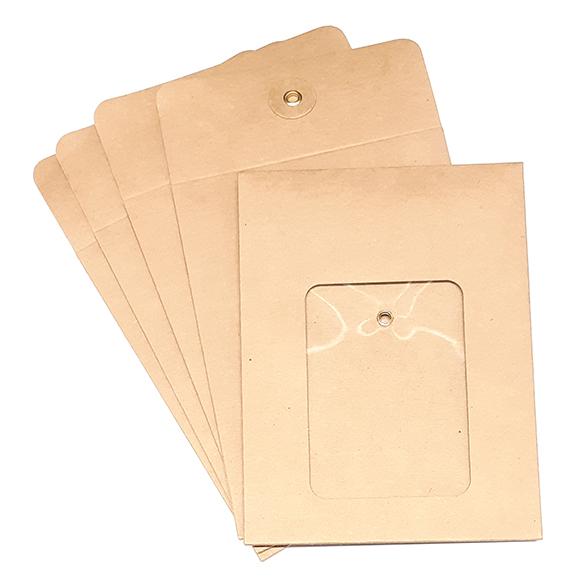 מארז מעטפות קראפט עם חלון