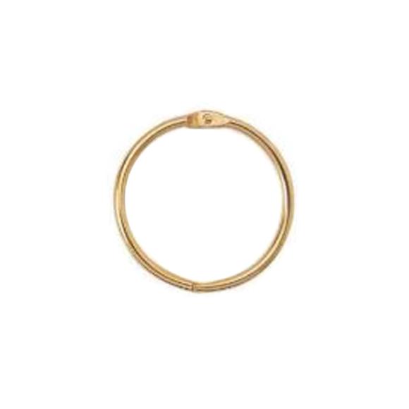 """טבעת מתכת לאלבומים """"1.5 - זהב"""