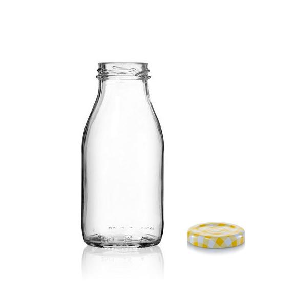 """בקבוק זכוכית 250 מ""""ל"""